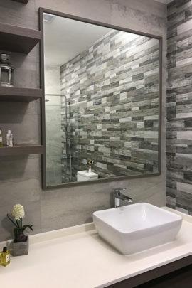 Bathroom, Spa, Renovation, Interior Design, Stone Italiana, Johnson Suisse, Grohe, Hafary, Home Decor